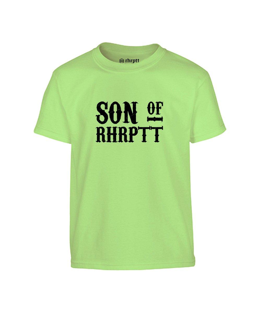 rhrptt kinder t-shirt vorne son of rhrptt mint neu