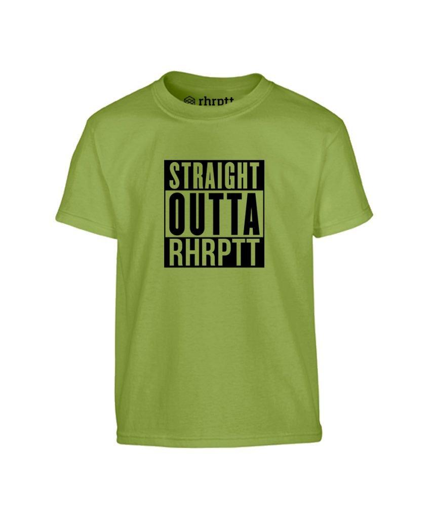 rhrptt kinder t-shirt vorne straight outta rhrptt kiwi