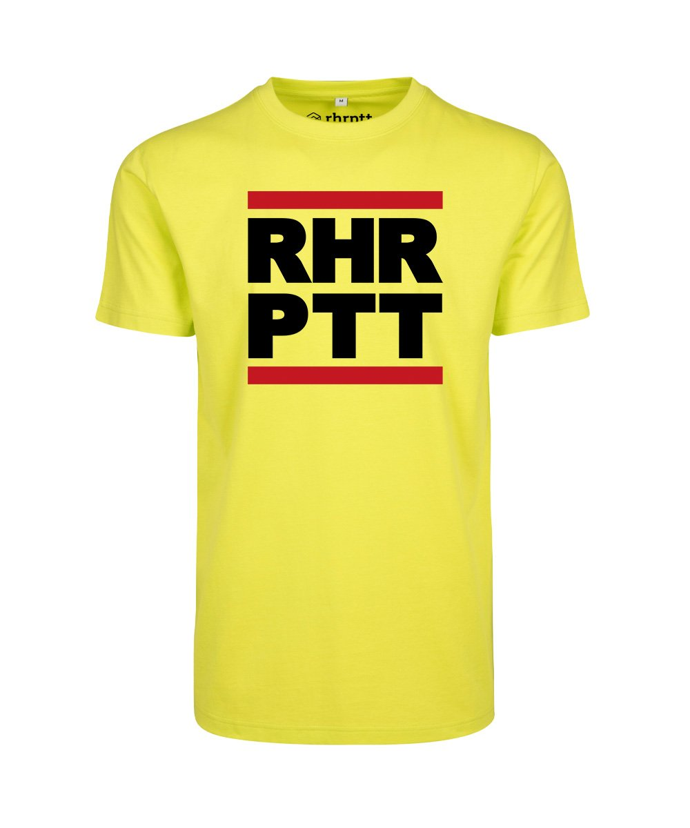 rhrptt t-shirt frozen yellow rundmc gross vorne