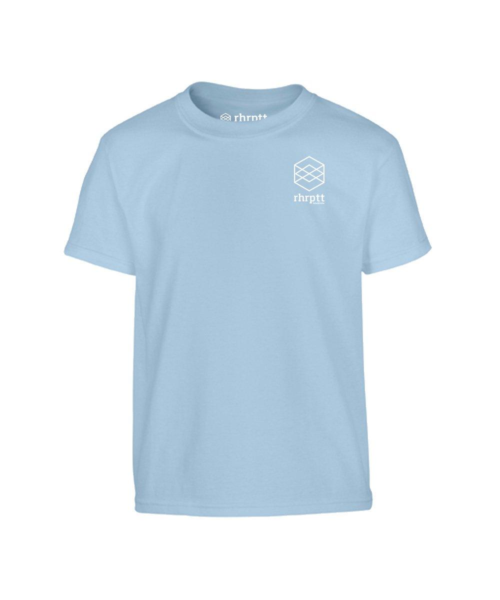 lebe und liebe rhrptt klein kinder t-shirt hellblau