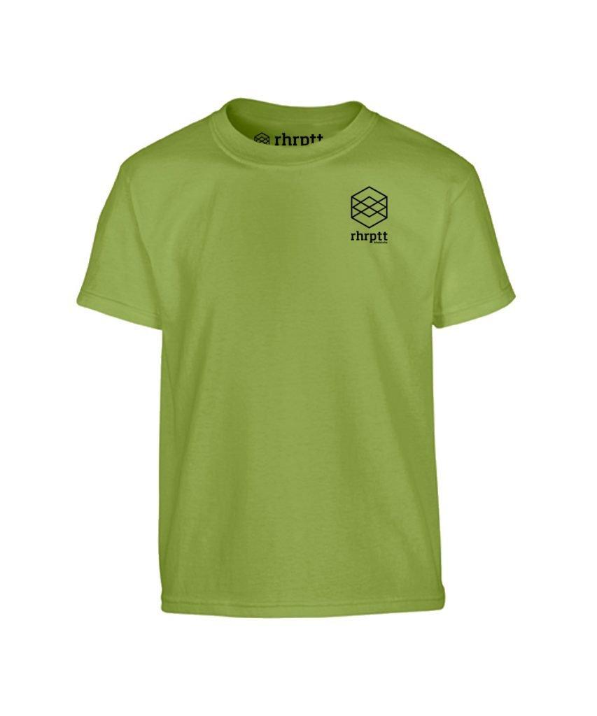 lebe und liebe rhrptt klein kinder t-shirt kiwi grün