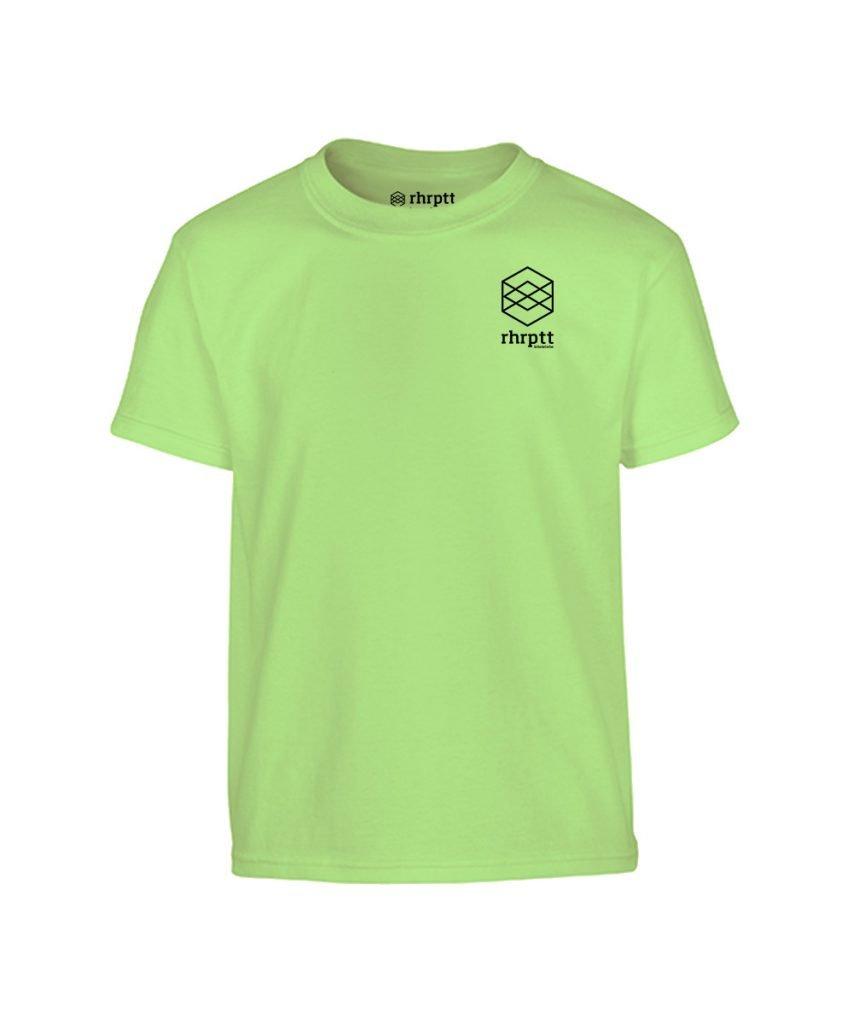 lebe und liebe rhrptt klein kinder t-shirt mint hellgrün