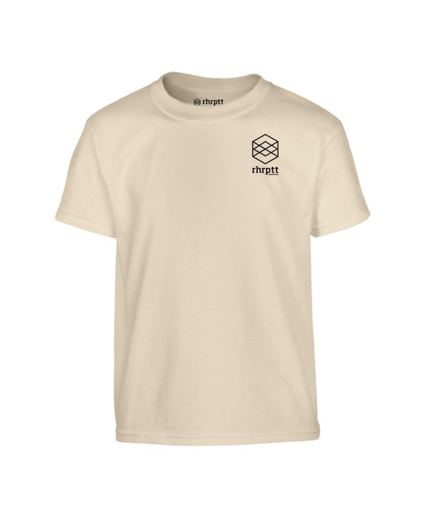 lebe und liebe rhrptt klein kinder t-shirt sand
