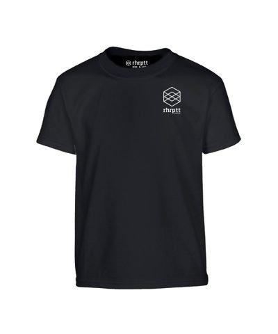 lebe und liebe rhrptt klein kinder t-shirt schwarz black shirt tshirt