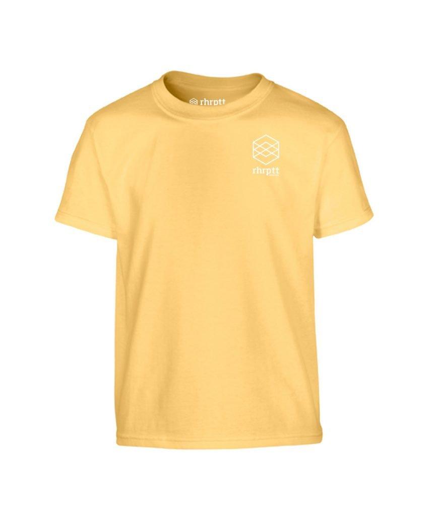 lebe und liebe rhrptt klein kinder t-shirt yellow haze gelb