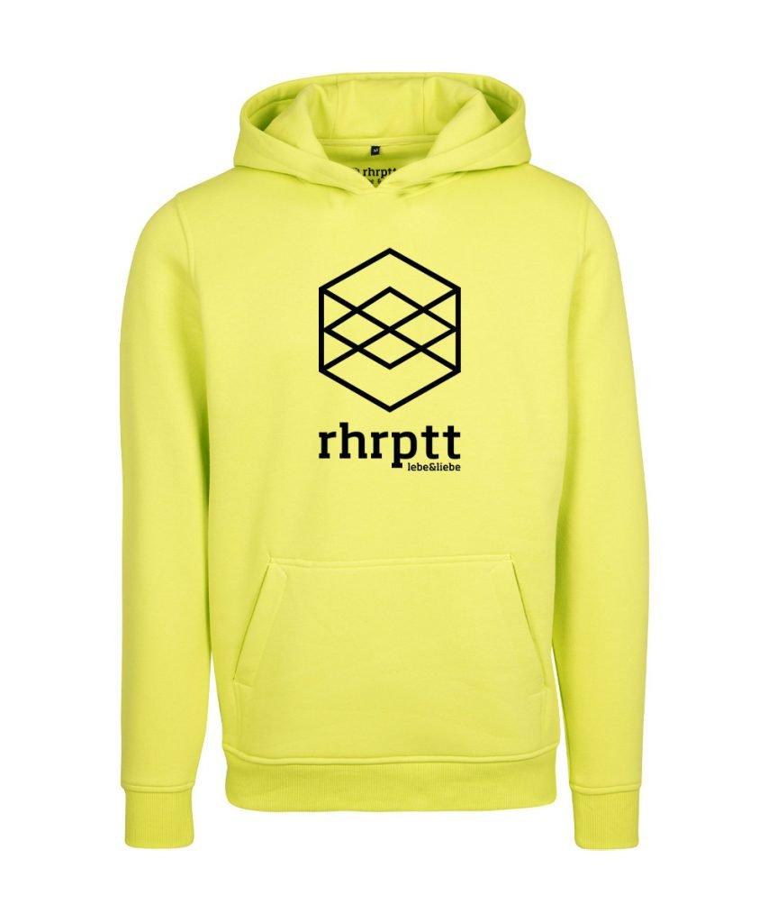 rhrptt hoodie lebe liebe rhrptt gross frozen yellow gelb