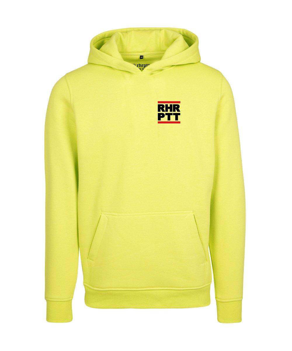 rhrptt hoodie runddmc klein frozen yellow gelb 1