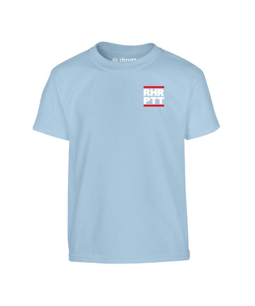 rhrptt kinder t-shirt ruhrpott klein hellblau