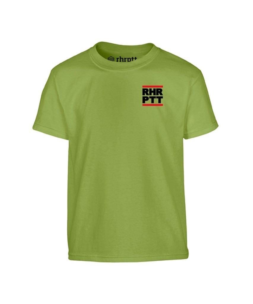 rhrptt kinder t-shirt ruhrpott klein kiwi grün
