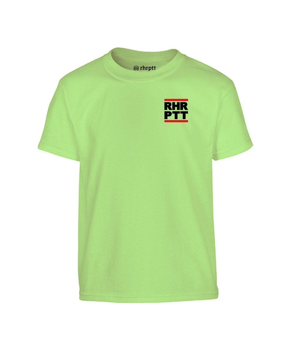 rhrptt kinder t-shirt ruhrpott klein mint hellgrün