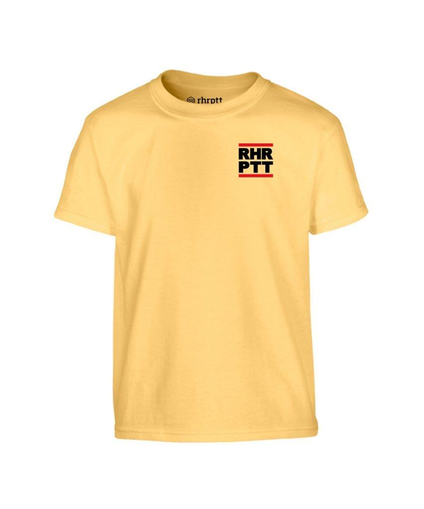 rhrptt kinder t-shirt ruhrpott klein yellow haze gelb