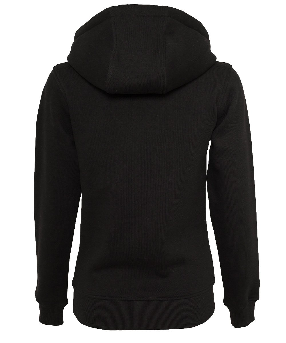 ruhrpott hoodie kapuzenpullover damen frauen schwarz brandlogo