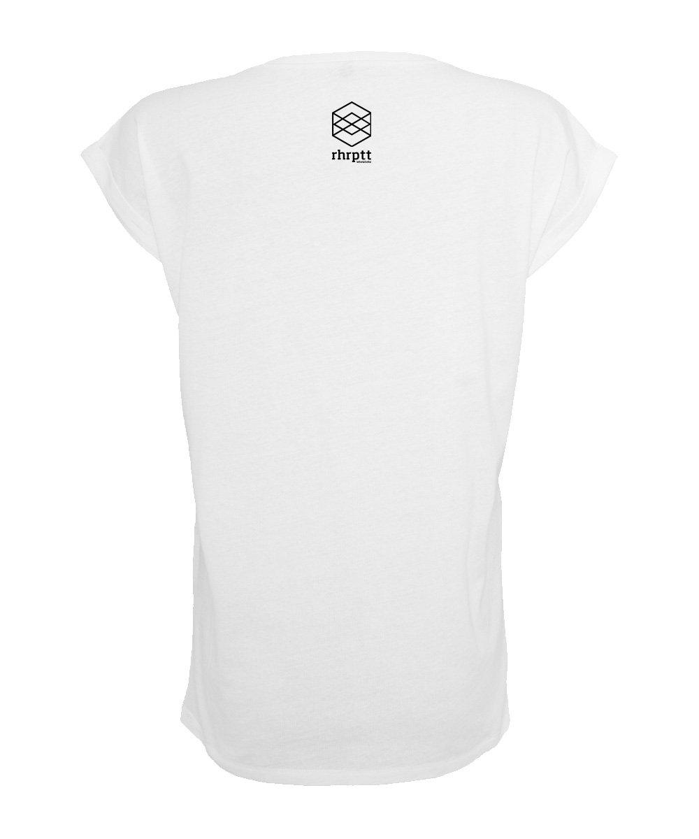 ruhrpott t-shirt tshirt damen frauen weiss brandlogo 1