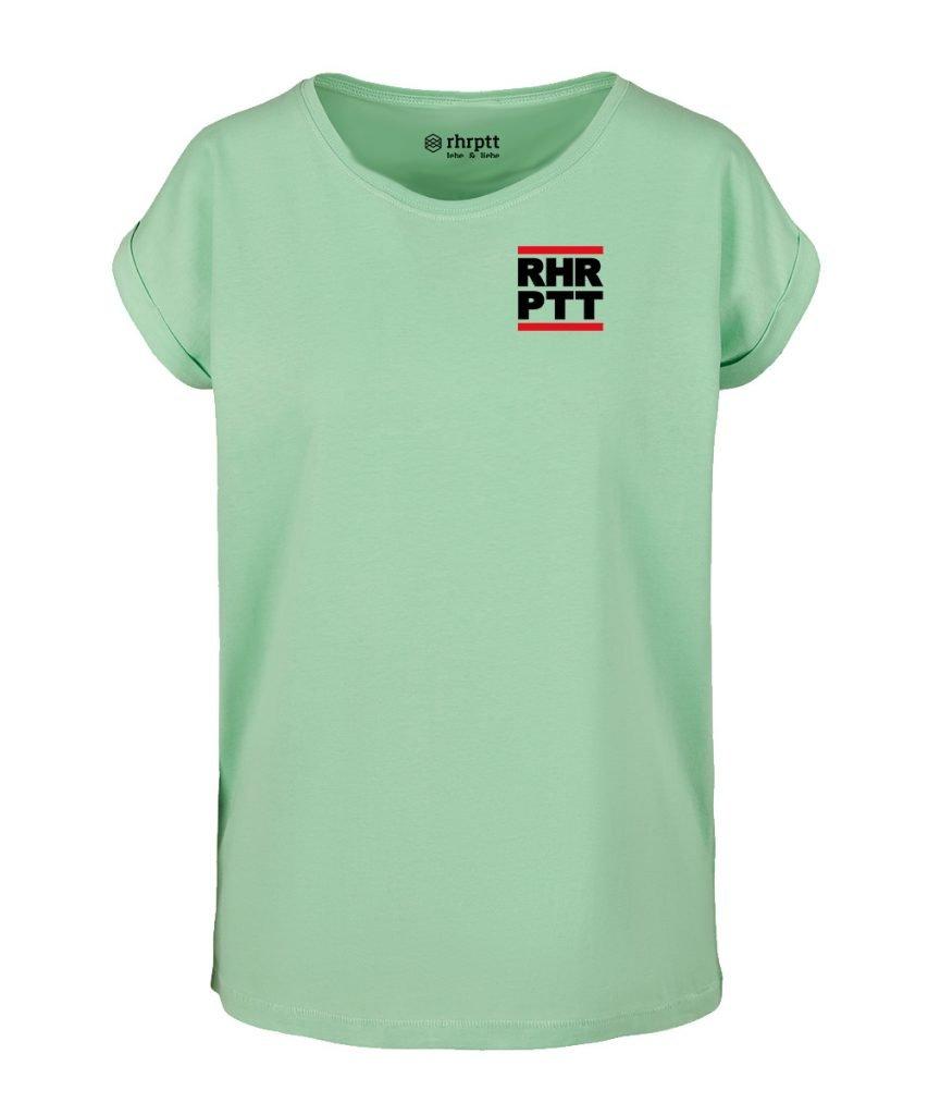 rhrptt t-shirt verkürzte ärmel klein mint hellgrün frauen damen
