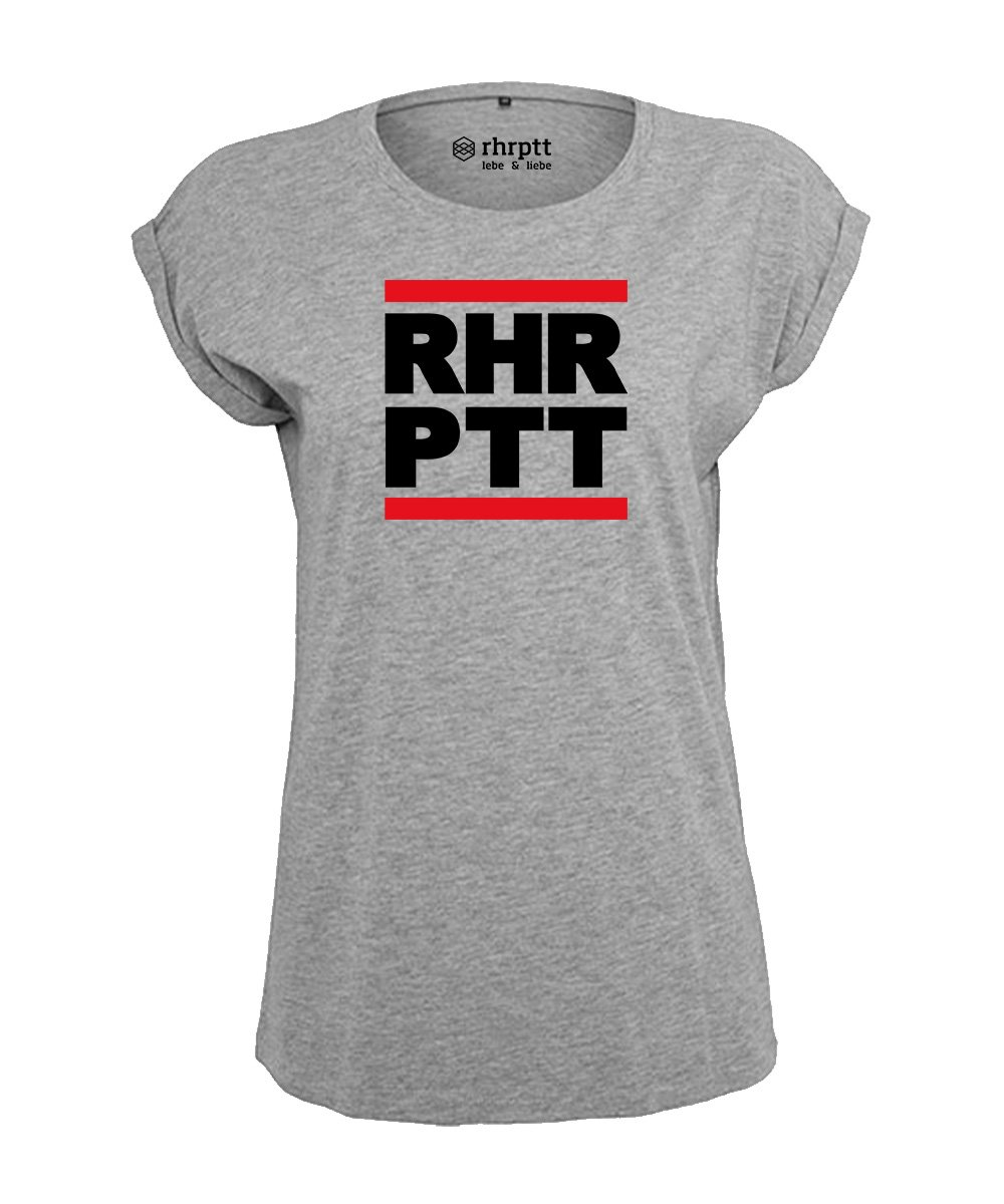 rhrptt tshirt vorne rundmc heather grey damen
