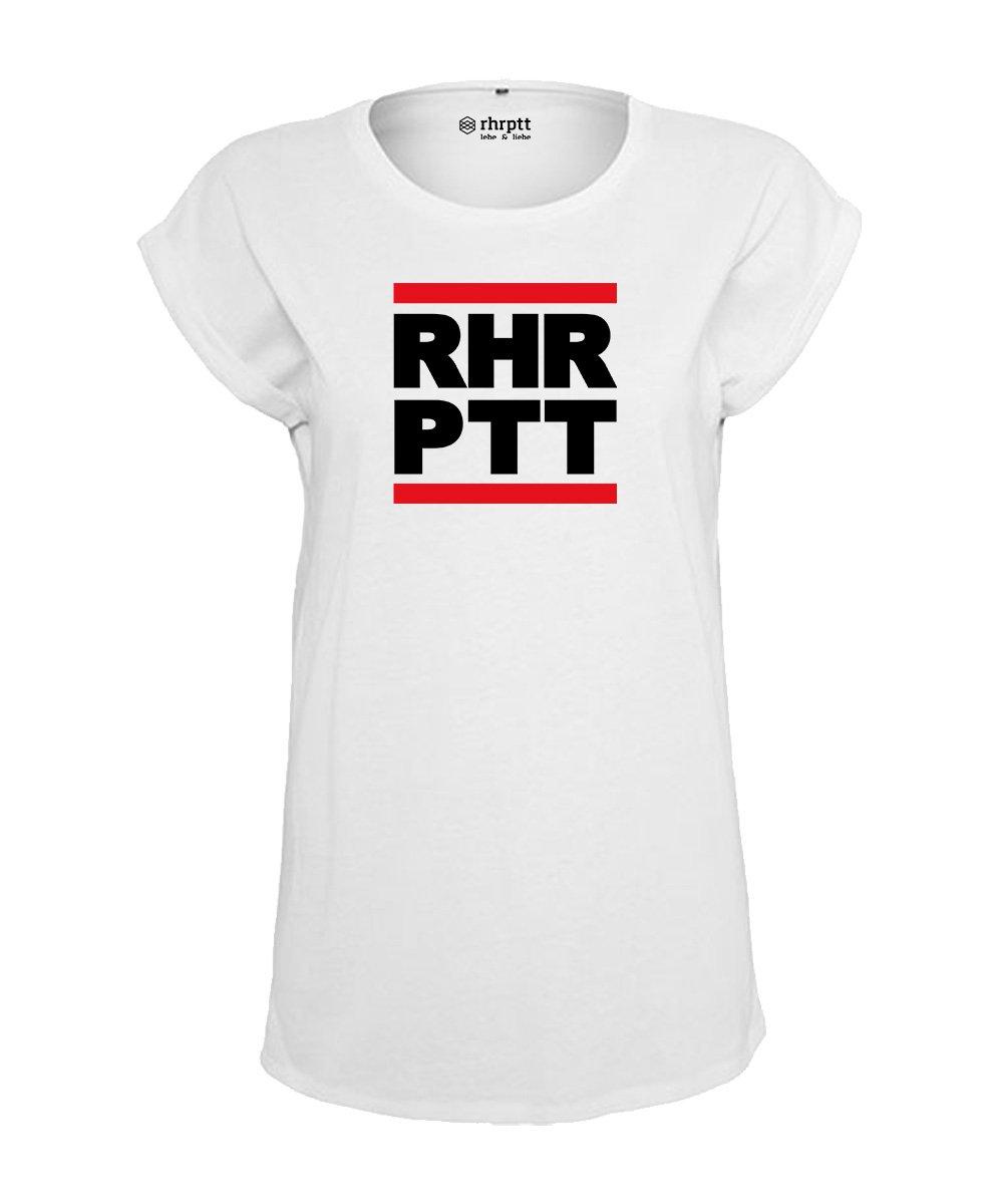 ruhrpott t-shirt tshirt damen frauen weiss