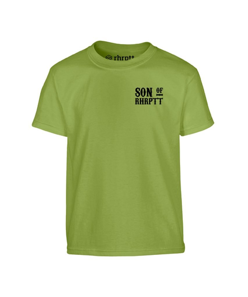 son of rhrptt klein kinder t-shirt kiwi grün